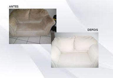Limpeza de Sofá ( Fotos )