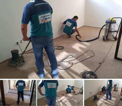 Limpeza de Carpetes